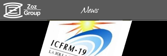 ICFRM2019 plenary (Fusion Reactor Materials)