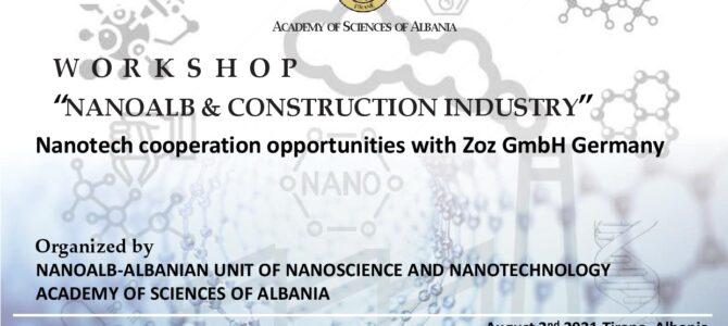 """WORKSHOP  """"NANOALB & CONSTRUCTION INDUSTRY"""""""