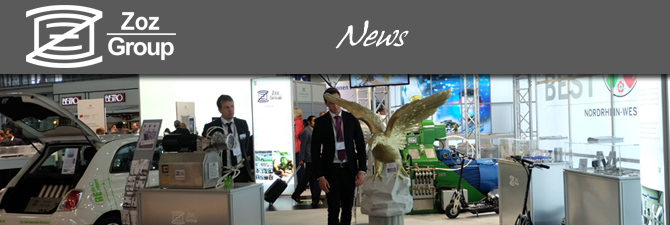 Zoz at the Hannover Messe 2015