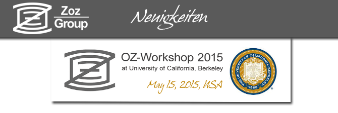 OZ-Workshop 2015 in Berkeley nächste Woche