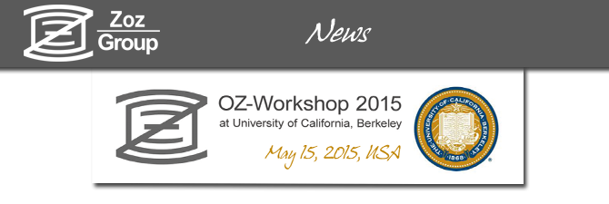 OZ-Workshop in Berkeley next week
