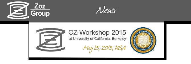 OZ-Workshop in Berkeley next week