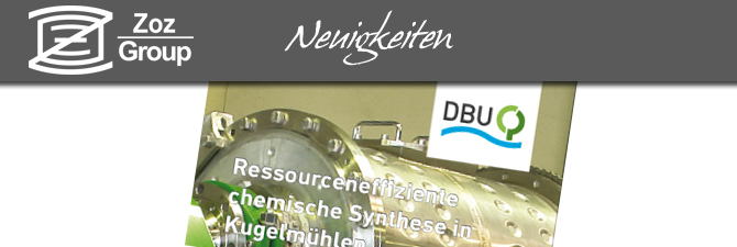 Ressourcenefziente chemische Synthese in Kugelmühlen